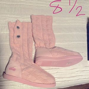 Juicy Couture Knitted Boots